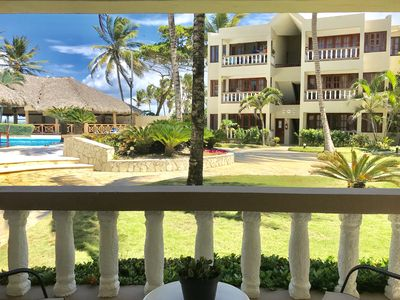 Photo for Beach Front Condo in Cabarete. Swimming Pool and Ocean