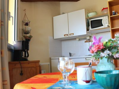 Photo for T2 cabin apartment, 6 people, LESN JARDINS DU CAP residence