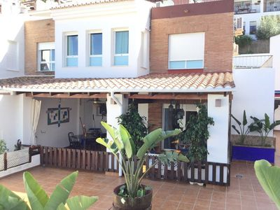 Photo for HOUSE CLIMATIZADA WITH POOL WIFI PARKING NEAR THE BEACH AND CENTRO ALMUÑECAR.