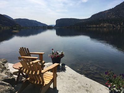 Photo for Heart Of Wine Country - Peaceful Vaseux Lakeside Living