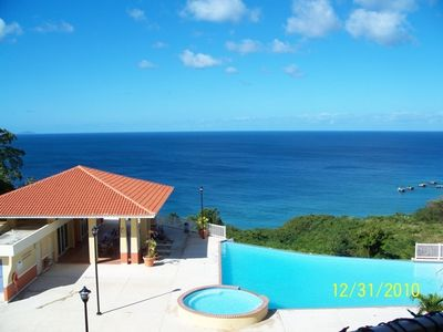 Photo for Stunning Ocean View Condo, Internet, Pool, Beach...
