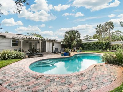 Photo for Fully Renovated Beach Home w/ Pool & Walk to Beach