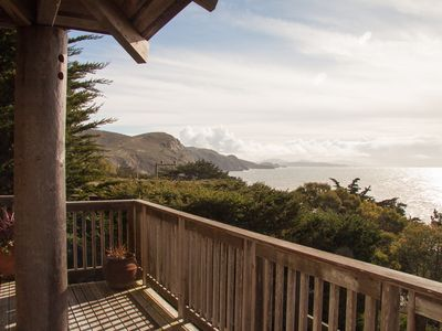 Photo for Muir Beach Haiku House - Beach Front Cozy Elegance with Expansive Ocean Views