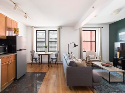 Photo for Classic 1BR in Theater District by Sonder