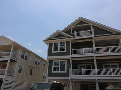 Photo for New 7 Bedroom Semi-Oceanfront at Kitty Hawk Shores