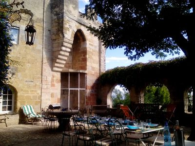 Photo for Part of a 12-17th-century castle (4-9 people): private access, panoramic view