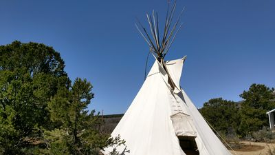 Photo for Authentic Tipi with Great Views!
