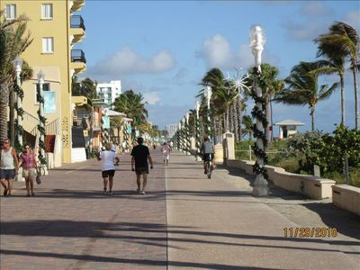 Enjoy a walk along the Boardwalk