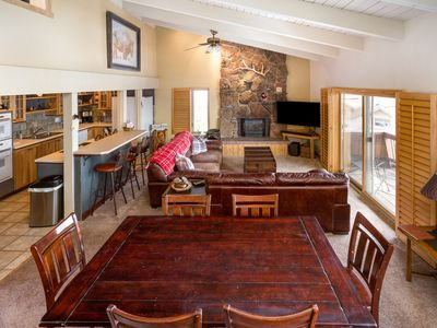 Photo for Storm Meadows Slopeside Chalet, Ski in Walk Out, Great for Families!