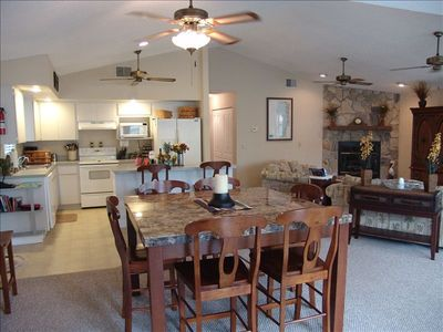 Eat-in Kitchen and Great Room