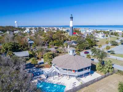 Photo for REDUCED RATE- July 14- 20!! PRIVATE POOL HOME- Walk to Tybee Lighthouse
