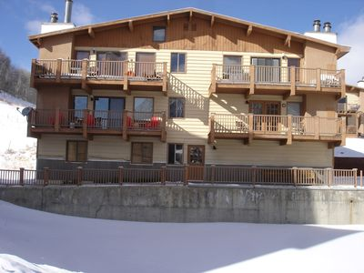 Photo for Ski conditions are great!! Come to enjoy spring skiing!