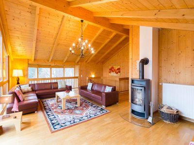 Photo for Luxury Ski Chalet With Log Fire And Sauna