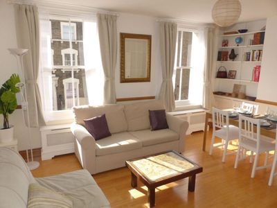 Photo for Spacious 95sqm, bright 2 bedroom flat by Russell Square, newly refurbished