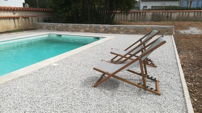 Photo for Spacious villa in the Camargue with swimming pool