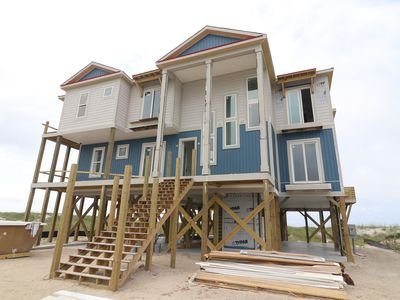 Photo for BRAND NEW-OCEANFRONT HOME-10BR/7.5BA-Elevated POOL-PETS-Sleeps36