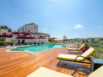 Photo for Tuscany Apartment - Florence | Swimming pool, Health Center, Technogym