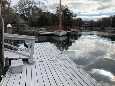 Photo for New Seabury Home with Ocean Access Dock