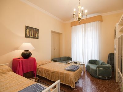 Photo for Vatican area, 3 bedrooms, 2 bathrooms