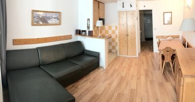 Photo for 3 * apartment/ flat - ALPE d'HUEZ- on slopes  - 6 persons 36 M2 - quiet and sunny
