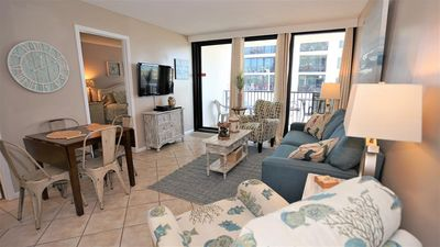 Photo for UPDATED DECOR, GREAT LOCATION, BEACH VIEWS, WALK TO THE SITES!