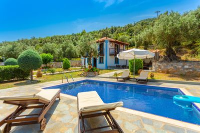 Beautiful villa with private pool, terrace, and garden