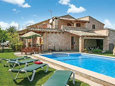 Photo for 5 bedroom Villa, sleeps 10 in Pollença with Pool and WiFi