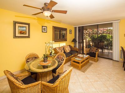 Photo for Bright and Cheery w/Prime Lanai View, Open Kitchen, WiFi–Kamaole Sands 1207