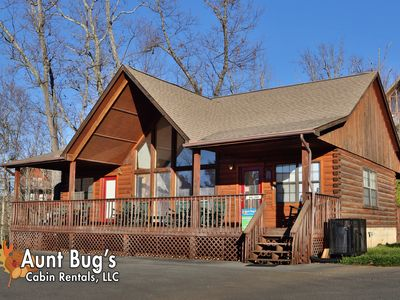 Photo for Indoor Pool Access Sunset View and pool table cabin near Dollywood