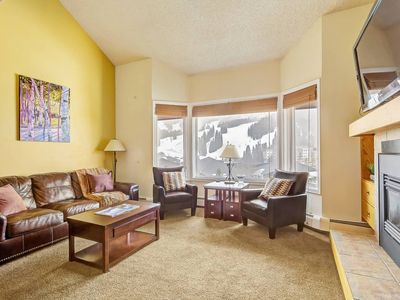 Photo for Lovely Copper Condo Great Views & Steps to Slopes!