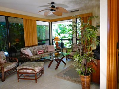 Photo for Tropical Romantic Beach Side Hideaway- Cozy, Remodeled With Great Kitchen