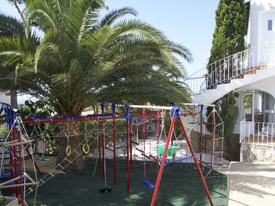 Photo for Beautiful villa with children playground, trampoline and private pool
