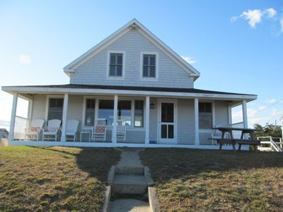Photo for Renovated Beachfront Home on Moody Beach with Guest Cottage