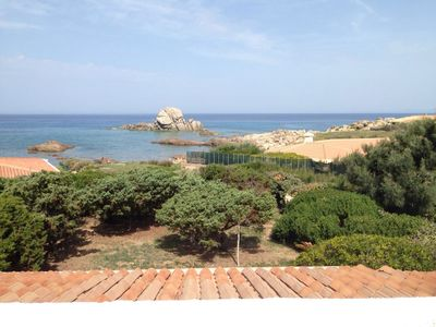 Photo for Beautiful seaside villa in prestigious residential park Sardinia