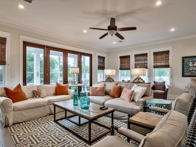 Photo for Next Door to Pool - Professionally Designed - In the Heartof Seagrove! `Sunny Days` 6 Bikes Included