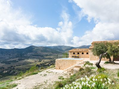 Photo for A restored finca with a private swimming pool.