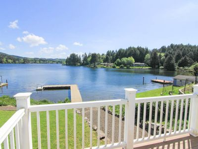 Photo for Large, Immaculate Lakefront Hm Featuring High End Amenities on Sprawling Lot