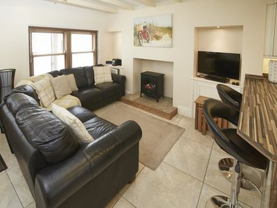 Photo for Beautiful Cottage in Heart of Old Staithes; Sea Views; Wi-Fi Access