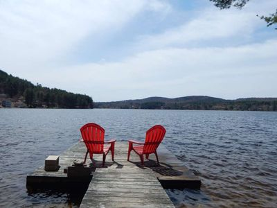 Photo for Waterfront Home on Pristine Franklin Pierce Lake in New Hampshire