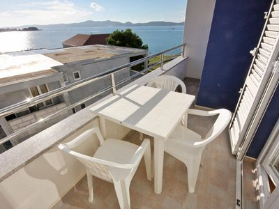 Photo for Studio flat with balcony and sea view Bibinje (Zadar)