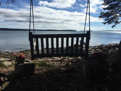 Photo for SUMMER SALE:Direct Private Waterfront Retreat, Minutes from Acadia National Park