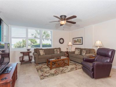 Welcome to Sand Dollar I #105! - Welcome to Sand Dollar I #105!  Just yards from the beach, ultra-comfy and spacious, you'll be loving this three bed, two bath ground floor condo.