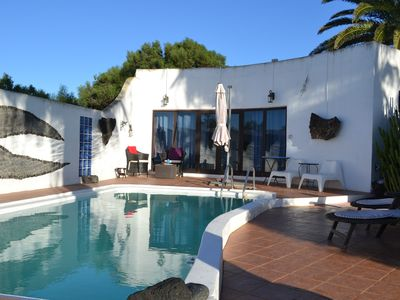 Photo for Bungalow with private pool in private garden