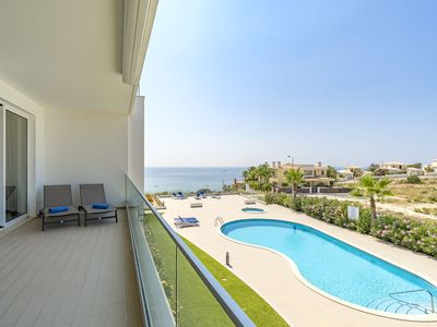Photo for Luxury Ocean View Apartment, Porto de Mos, Lagos