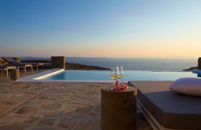 Photo for Villa Crystal Part of Luxury Villas Mykonos Private Pool 4br 9guests