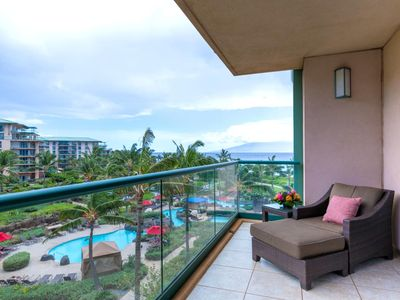 Photo for K B M Hawaii: Ocean Views, Grand Suite 3 Bedroom, FREE car! Aug Specials From only $479!