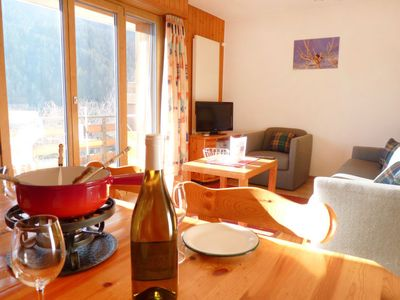 Photo for Apartment Tourbillon B 27 in Ovronnaz - 4 persons, 1 bedrooms