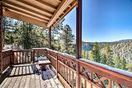 Step outside and enjoy breathtaking views of the mountain divide!