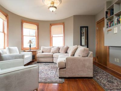 Photo for Beautiful apartment near Downtown, the Redline and UMass Boston!