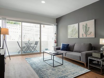 Photo for Premium Brentwood 1BR w/ Pool, walk to San Vicente Blvd., by Blueground